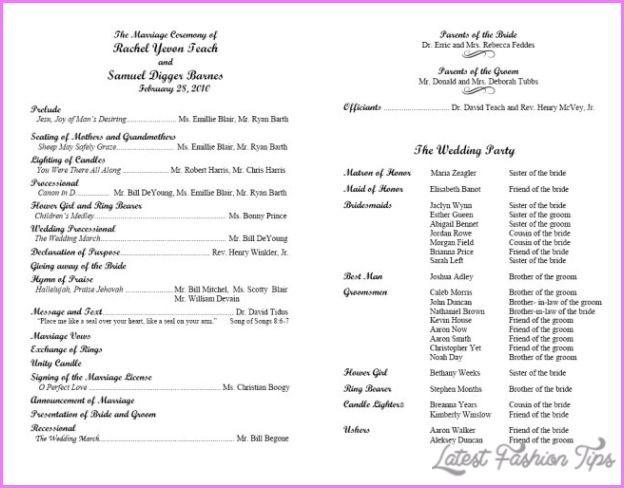 Church Musical Program Template Pictures to Pin on ...