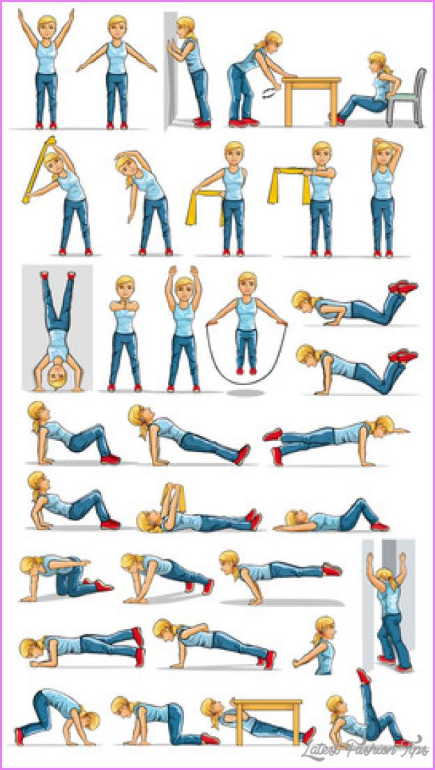 Upper body exercises for women latestfashiontips
