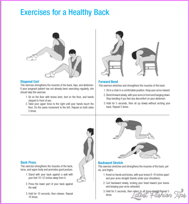 Back Exercises For Pregnant Women 109