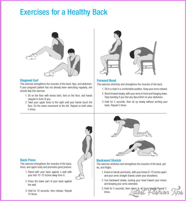 Back Exercises For Pregnant Women 109