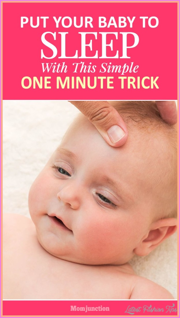 how to put an infant to sleep