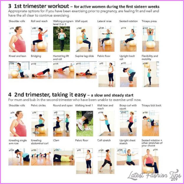 Pregnancy Back Exercises Latestfashiontips Com