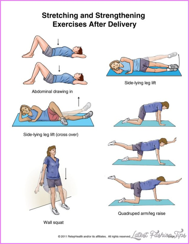 Pregnancy Back Exercises