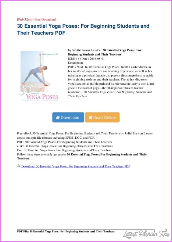 30 Essential Yoga Poses 14