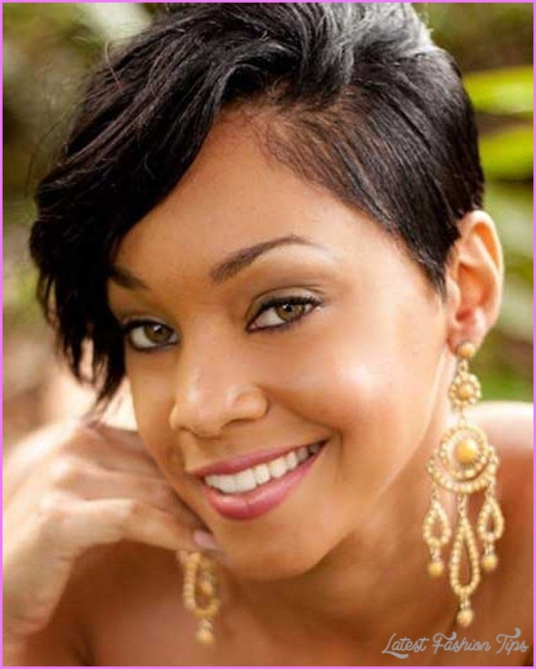 Short Hairstyles For Black Women With Thin Hair Latestfashiontips Com