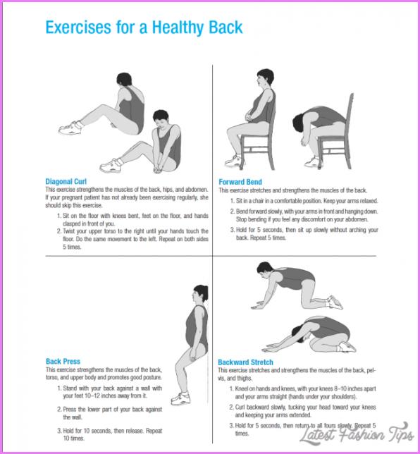 Back Exercises For Pregnancy