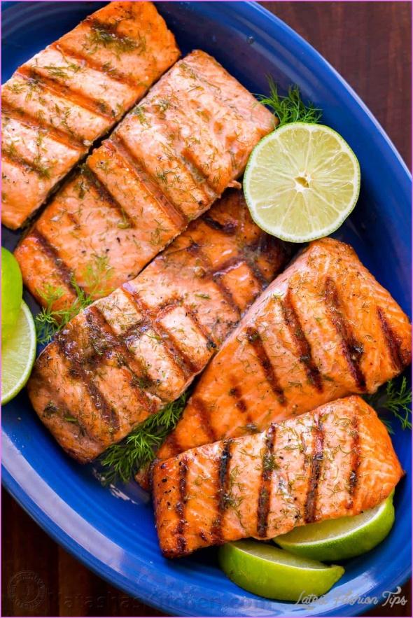 BBQ Rub Salmon Recipe