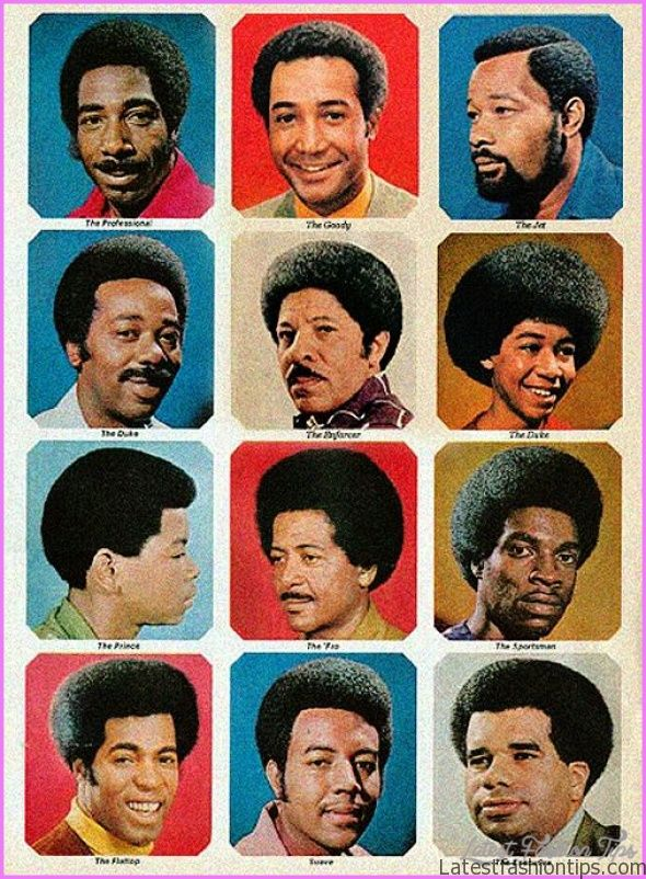 Black Men Hairstyles Chart
