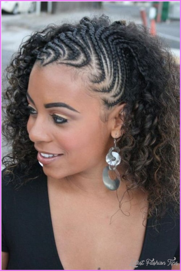Braid Hairstyles For Black Women Cornrows - LatestFashionTips.com