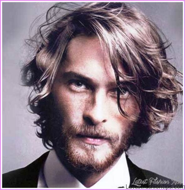 Hairstyles For Men With Thick Long Hair Latestfashiontips Com