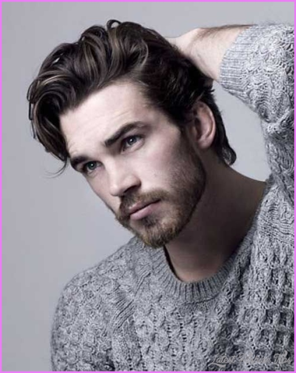 Hairstyles For Men With Thick Long Hair , LatestFashionTips