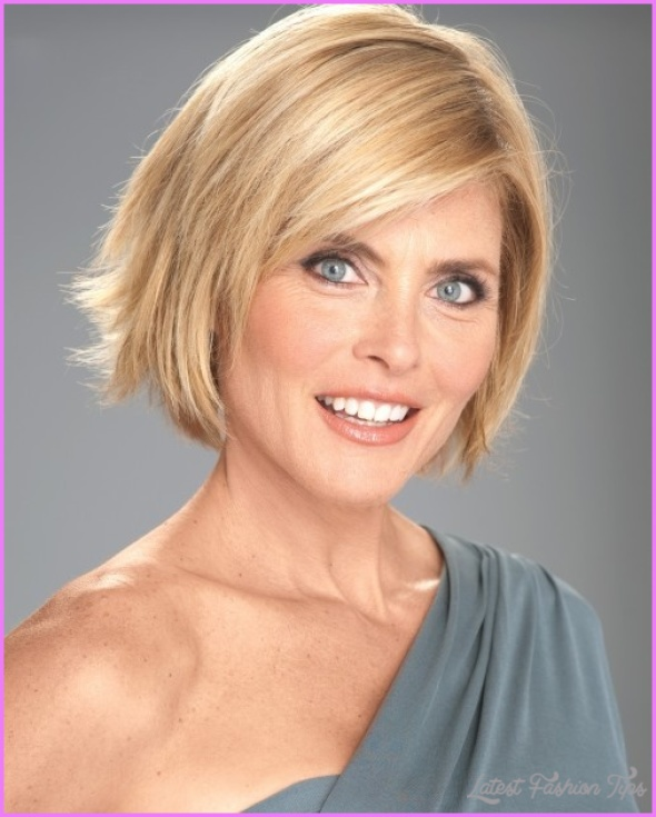 Hairstyles For Women Over 45 - LatestFashionTips.com