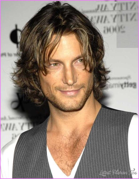medium length men hairstyles  latestfashiontips