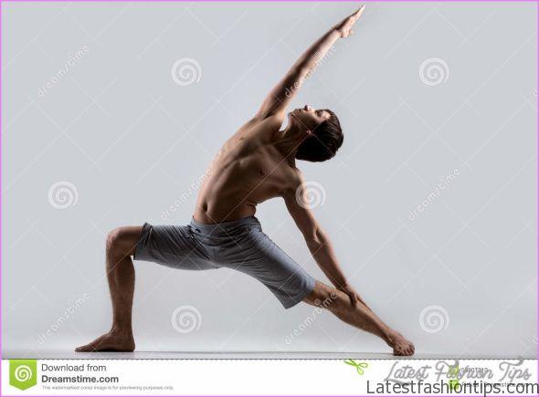 Reverse Warrior Yoga Pose