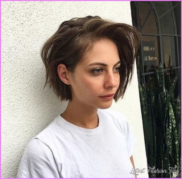 Short Hairstyles For Women 2018 Latestfashiontips Com
