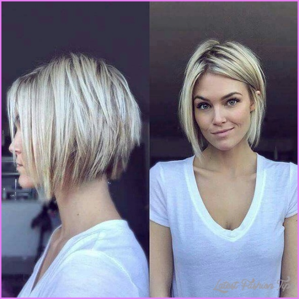 Short Hairstyles For Women 2018 - LatestFashionTips.com ®