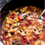 Slow Cooked Chicken Coriander Enchilada Soup_14.jpg