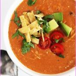 Slow Cooked Chicken Coriander Enchilada Soup_2.jpg