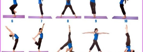 Standing Poses In Yoga