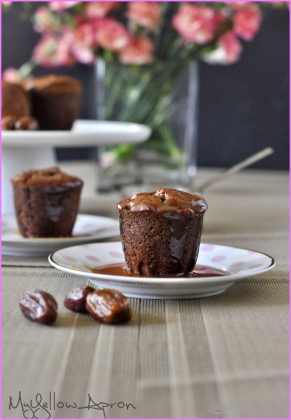 Sticky Date Muffin Cupcakes - LatestFashionTips.com