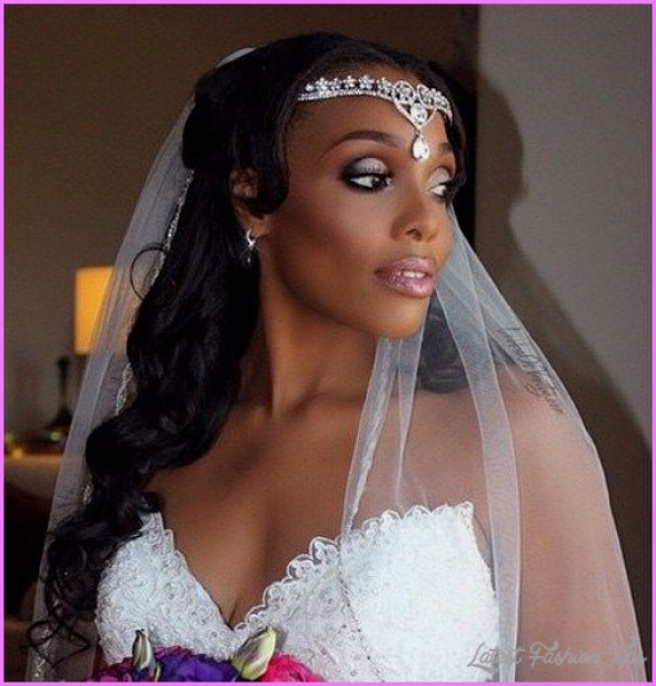Black Women Wedding Hair Style: Wedding Hairstyles For African American Women