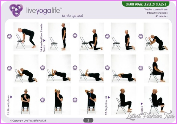 Yoga Poses For Obese Beginners 3