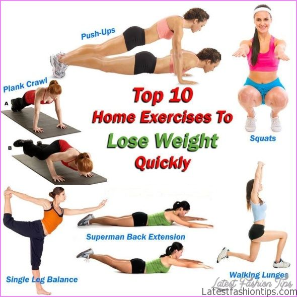 10 Best Exercises For Weight Loss Fast