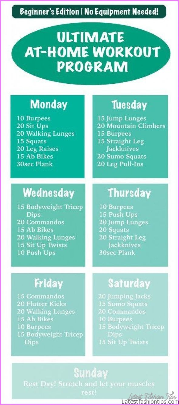 10 Easy Exercises For Weight Loss At Home