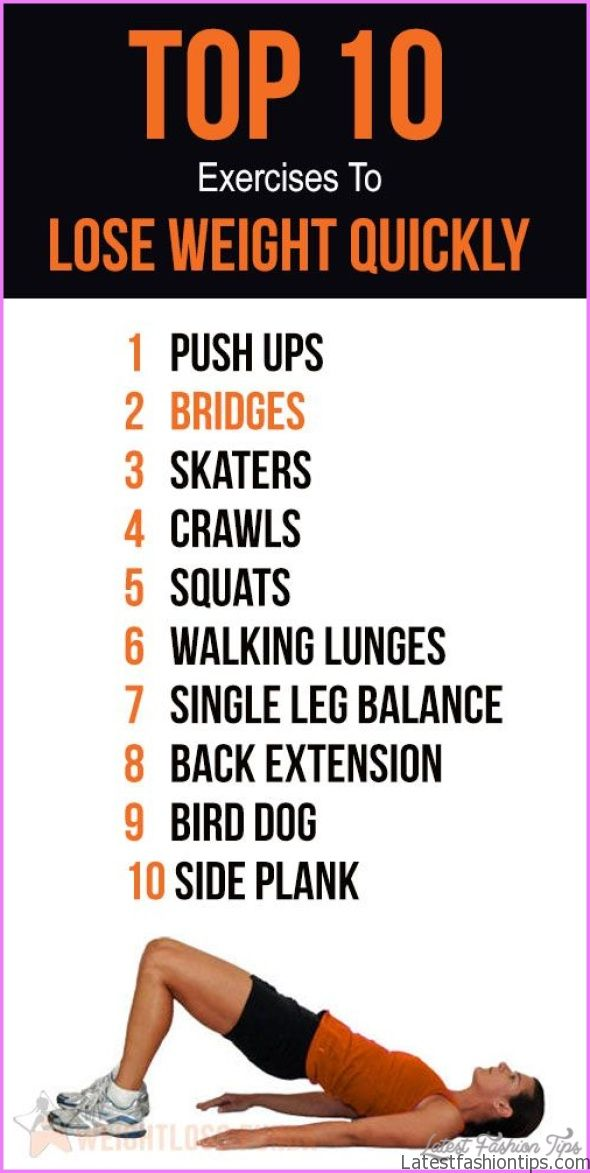 10 Exercises For Weight Loss At Home