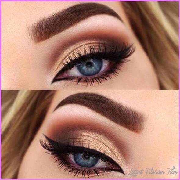 Cute Makeup Ideas For Dark Brown Eyes_1.jpg