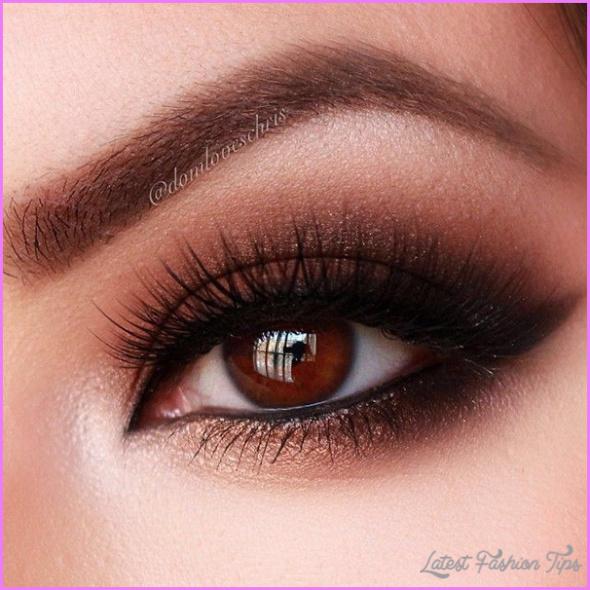 Cute Makeup Ideas For Dark Brown Eyes_10.jpg