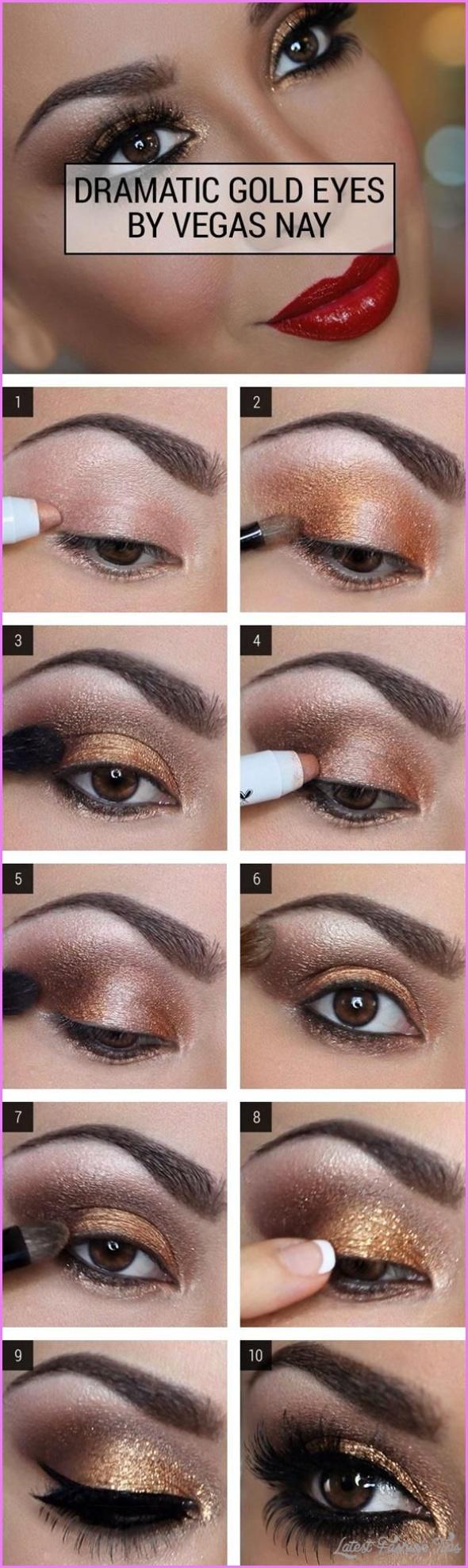 Cute Makeup Ideas For Dark Brown Eyes_13.jpg