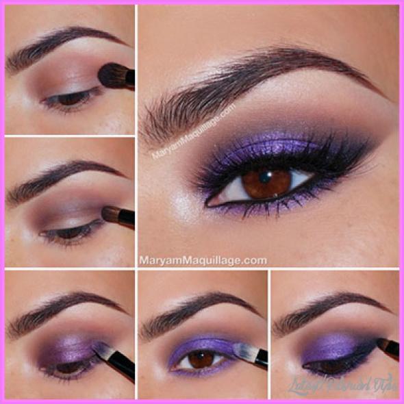 Cute Makeup Ideas For Dark Brown Eyes_2.jpg