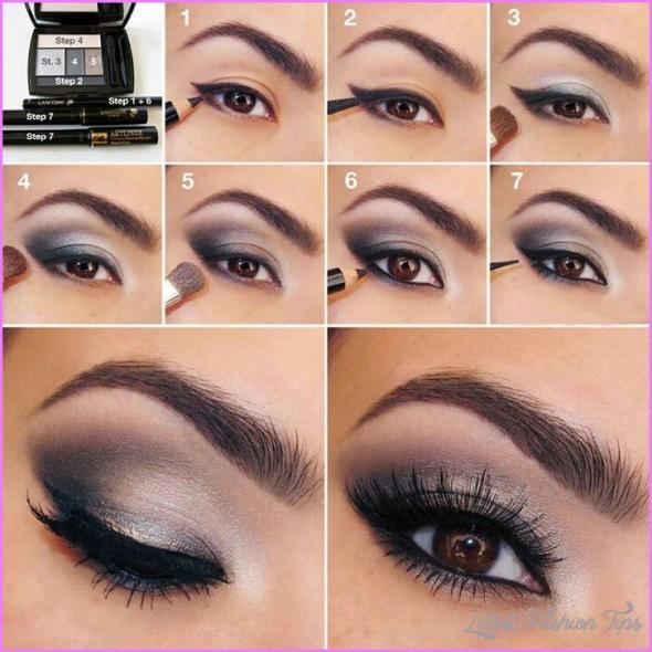 Cute Makeup Ideas For Dark Brown Eyes_3.jpg