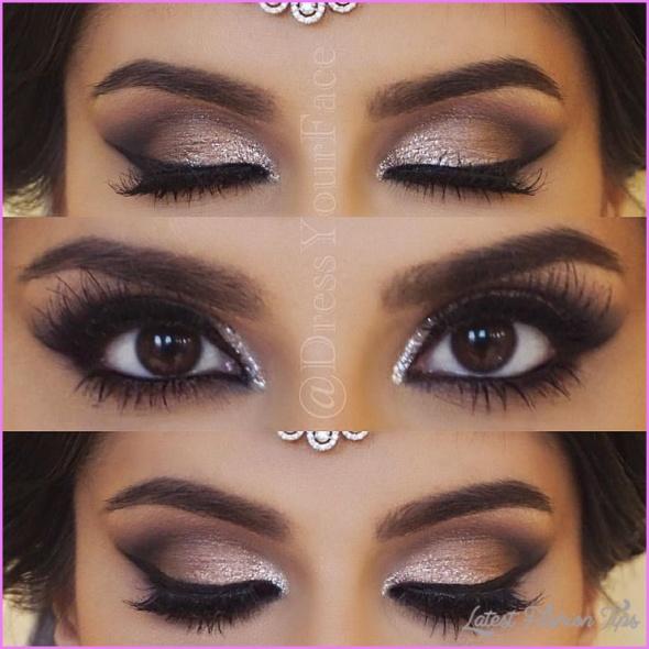 Cute Makeup Ideas For Dark Brown Eyes_6.jpg