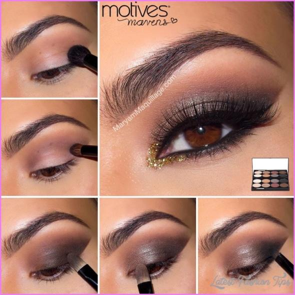 Cute Makeup Ideas For Dark Brown Eyes_7.jpg