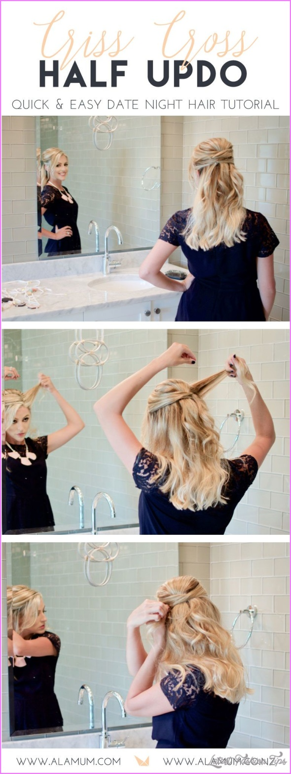 Down 'Do to Updo: Day to Night Hairstyle Idea_8.jpg