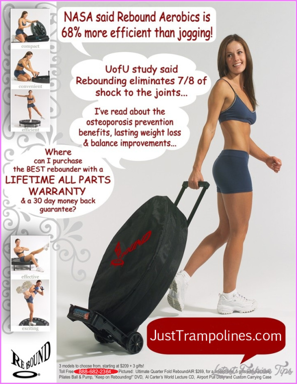 weight loss with mini trampoline