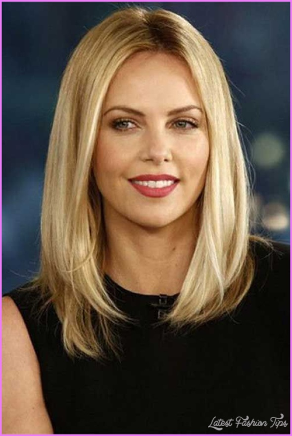 Same Layered Shoulder Length Haircut Different Hairstyles
