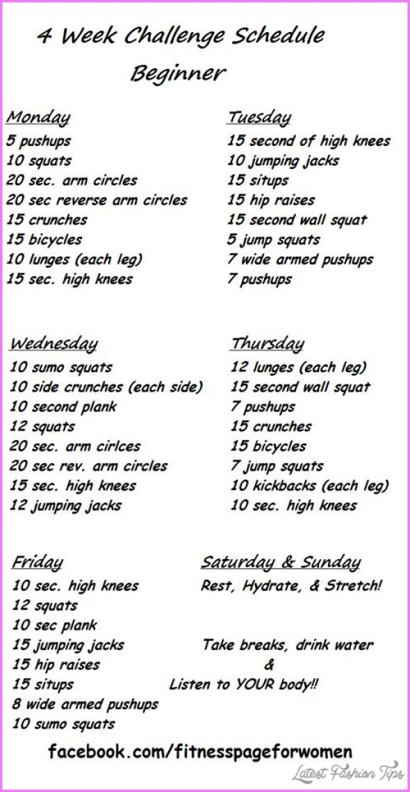 Weight Loss Exercise Programs For Beginners - LatestFashionTips.com ®