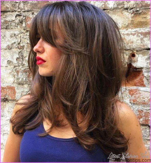 Layered Hair Tips