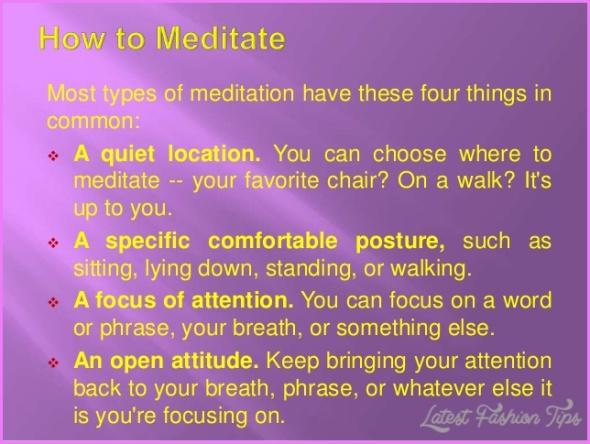 Weight Loss Through Meditation