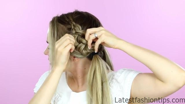 1 Week of Bun Hairstyles - Hair Tutorial 22