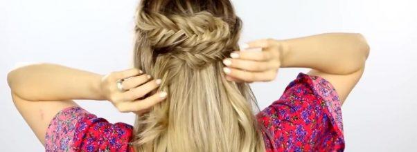 3 Easy Back To School Hairstyles - Hair Tutorial 14