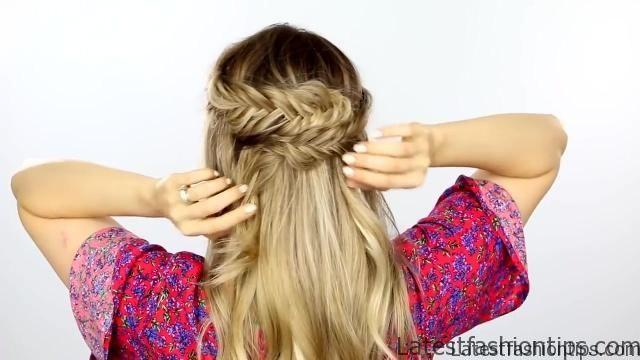 3 Easy Back To School Hairstyles Hair Tutorial Latestfashiontips