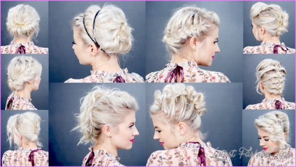 5 Quick Holiday Hairstyles for Short Hair! - LatestFashionTips.com ®