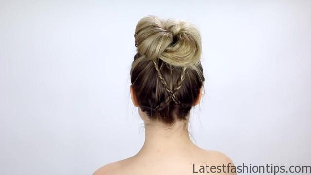 7 Easy Tiny Braid Hairstyles KayleyMelissa 03