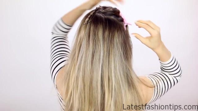 7 Easy Tiny Braid Hairstyles KayleyMelissa 06