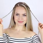 7 Easy Tiny Braid Hairstyles KayleyMelissa 09