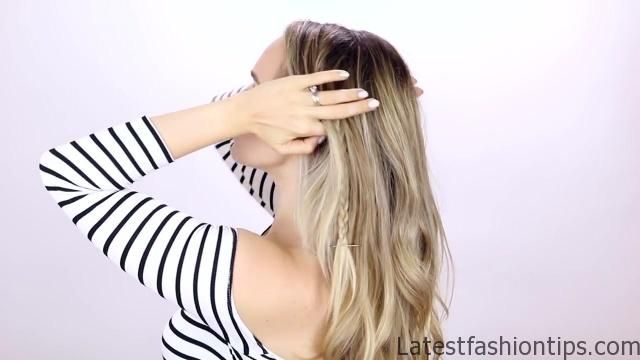 7 Easy Tiny Braid Hairstyles KayleyMelissa 15
